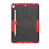 Apple iPad Pro 10.5 Ultra Süper Koruma Standlı Kırmızı Kılıf - Resim 5