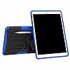 Apple iPad Pro 10.5 Ultra Süper Koruma Standlı Mavi Kılıf - Resim 3