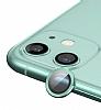 Apple iPhone 12 Metal Kenarlı Cam Yeşil Kamera Lensi Koruyucu