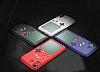iPhone 6 Plus / 7 Plus / 8 Plus Tetris Oyunlu Siyah Kılıf - Resim 1