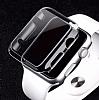 Apple Watch / Watch 2 / Watch 3 42mm Şeffaf Kristal Kılıf - Resim 3