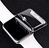 Apple Watch / Watch 2 / Watch 3 42mm Şeffaf Kristal Kılıf - Resim 4