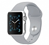 Apple Watch Gri Silikon Kordon (38 mm) - Resim: 3