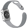 Apple Watch Gri Silikon Kordon (38 mm) - Resim: 1