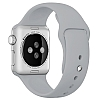 Apple Watch Gri Silikon Kordon (38 mm) - Resim: 2