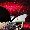 Araç İçi Tavan Lambası Animasyon Projektörü Kırmızı Işıklı - Resim 1