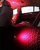 Araç İçi Tavan Lambası Animasyon Projektörü Kırmızı Işıklı - Resim 3