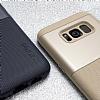 Araree Amy Classic Samsung Galaxy S8 Plus Ultra Koruma Gravity Blue Kılıf - Resim 2