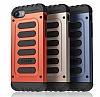 Araree Wrangler Force iPhone 7 / 8 Ultra Koruma Magma Orange Kılıf - Resim 12