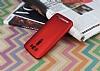 Asus ZenFone 2 Laser 5 inç Mat Kırmızı Silikon Kılıf - Resim 1