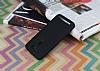Asus ZenFone 2 Laser 5,5 inç Mat Siyah Silikon Kılıf - Resim 1