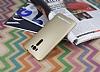 Asus ZenFone 2 Laser 5.5 inç Tam Kenar Koruma Gold Rubber Kılıf - Resim 1