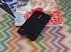 Asus ZenFone 2 Laser 5.5 inç Tam Kenar Koruma Siyah Rubber Kılıf - Resim 2
