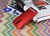 Asus ZenFone 2 ZE551ML Tam Kenar Koruma Kırmızı Rubber Kılıf - Resim 2