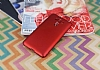 Asus Zenfone 3 Laser ZC551KL Tam Kenar Koruma Kırmızı Rubber Kılıf - Resim 1