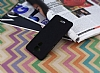 Asus Zenfone 3 Max ZC520TL Tam Kenar Koruma Siyah Rubber Kılıf - Resim 2