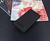 Asus ZenFone 3 Max ZC553KL Gizli Mıknatıslı Yan Kapaklı Siyah Deri Kılıf - Resim 2