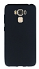Asus ZenFone 3 Max ZC553KL Mat Siyah Silikon Kılıf