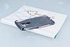 Asus ZenFone 3 ZE552KL Simli Siyah Silikon Kılıf - Resim 2