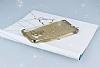 Asus ZenFone 3 ZE552KL Simli Gold Silikon Kılıf - Resim 2