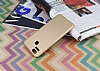 Asus ZenFone 3 Zoom Tam Kenar Koruma Gold Rubber Kılıf - Resim 2