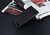 Asus Zenfone 4 Max ZC554KL Gizli Mıknatıslı Standlı Siyah Deri Kılıf - Resim 2