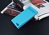 Asus Zenfone 4 Max ZC554KL Gizli Mıknatıslı Standlı Mavi Deri Kılıf - Resim 2