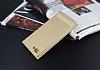 Asus Zenfone 4 Max ZC554KL Gizli Mıknatıslı Standlı Gold Deri Kılıf - Resim 2