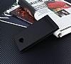 Asus ZenFone 4 Selfie ZD553KL Gizli Mıknatıslı Yan Kapaklı Siyah Deri Kılıf - Resim 2