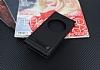 Asus ZenFone 4 ZE554KL Gizli Mıknatıslı Pencereli Siyah Deri Kılıf - Resim 1