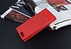 Asus ZenFone 4 ZE554KL Gizli Mıknatıslı Pencereli Kırmızı Deri Kılıf - Resim 2