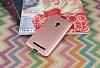 Asus ZenFone 5 Mat Rose Gold Silikon Kılıf - Resim 2