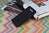 Asus ZenFone 5 Mat Siyah Silikon Kılıf - Resim 1
