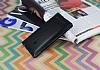Asus Zenfone 5 Pencereli İnce Kapaklı Siyah Kılıf - Resim 2