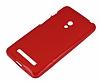 Asus ZenFone 5 Kırmızı Silikon Kılıf - Resim 1
