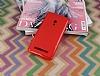 Asus ZenFone 5 Kırmızı Silikon Kılıf - Resim 3