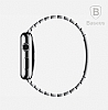 Baseus Apple Watch Link Bracelet Orjinal Silver Metal Kordon - Resim: 1