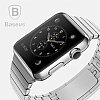 Baseus Apple Watch Link Bracelet Orjinal Silver Metal Kordon - Resim: 2