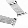 Baseus Apple Watch Milanese Loop Orjinal Silver Metal Kordon (38 mm) - Resim: 4