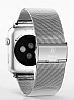Baseus Apple Watch Milanese Loop Orjinal Silver Metal Kordon (38 mm) - Resim: 2