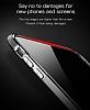 Baseus Armor iPhone X Lacivert Kenarlı Silikon Kılıf - Resim 6