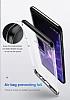 Baseus Armor Samsung Galaxy S9 Siyah Kenarlı Ultra Koruma Kılıf - Resim 3