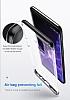 Baseus Armor Samsung Galaxy S9 Plus Lacivert Kenarlı Ultra Koruma Kılıf - Resim 1