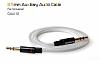 Baseus Auxiliary 3.5mm Beyaz Aux Kablo 1m - Resim 3