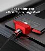 Baseus Backpack 4000 mAh Lightning Powerbank Beyaz Yedek Batarya - Resim 3