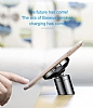 Baseus Big Ears Kablosuz Şarj Özellikli Havalandırma Manyetik Tutucu - Resim 5