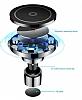 Baseus Big Ears Kablosuz Şarj Özellikli Havalandırma Manyetik Tutucu - Resim 2