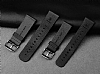 Baseus Buckle Apple Watch 38 mm Siyah Deri Kordon - Resim: 6