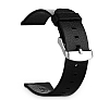 Baseus Buckle Apple Watch 38 mm Siyah Deri Kordon - Resim: 2