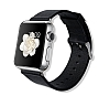 Baseus Buckle Apple Watch 38 mm Siyah Deri Kordon - Resim: 1